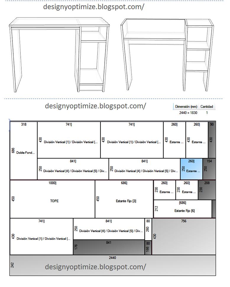 Dise o de muebles madera mesa mueble moderno para for Medidas ergonomicas de un escritorio