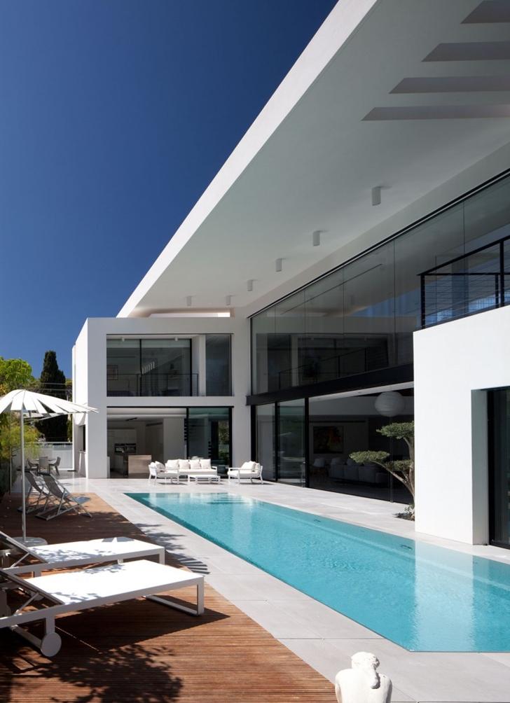 World of Architecture Modern Bauhaus Mansion In Israel
