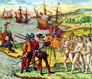 Resultado de imagen para colon y los reyes catolicos