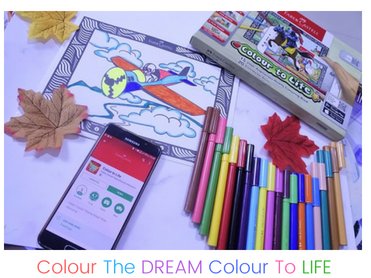 Colour The Dream, Colour To Life Dengan Faber Castell Connector Pens