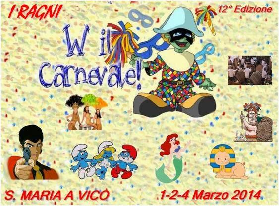 Solo caserta eventi e sagre carnevale 2014 a santa maria for Arredamento lupin castel volturno