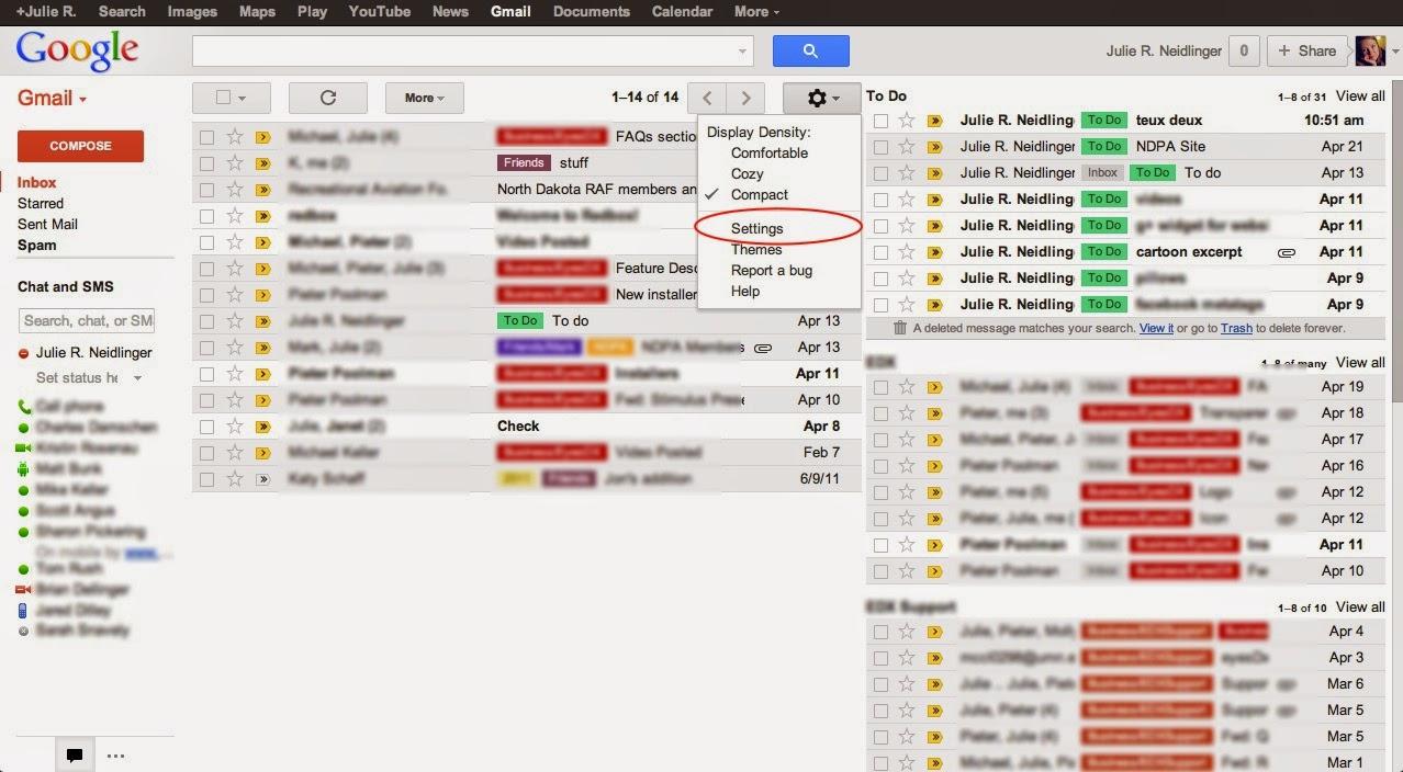 Lebih Praktis dengan All inboxes bisa membuka gmail dengan akun banyak