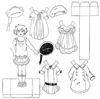 Mostly Paper Dolls: Cute Paper Dolls from 1922