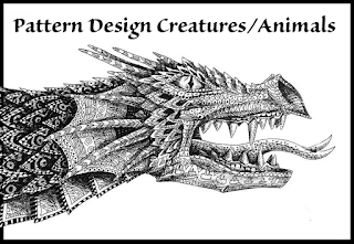 http://www.14erart.com/2017/03/art-lesson-pattern-design-creatures.html