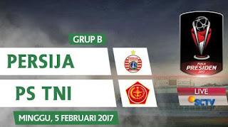 Persija Jakarta vs PS TNI 1-0 Piala Presiden 2017