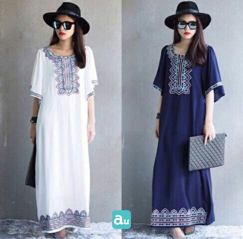 Jual Dress Tribal Longdress - 13255