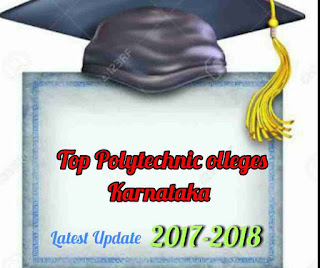 Top polytechnic colleges Karnataka