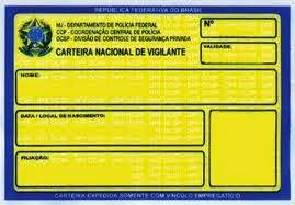3fc14ecd6 Vigilante Patrimonial: Nova CNV (Carteira Nacional de Vigilantes)