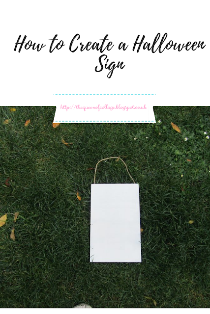 How to Create a Halloween Sign