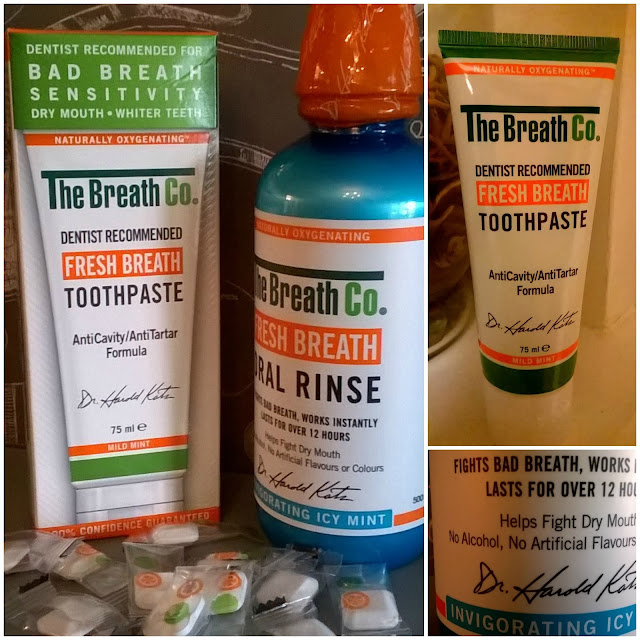 The Fresh Breath Co Range