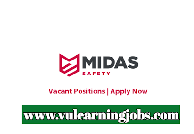 Midas Safety PVT LTD Careers Pakistan 2019 ~ Vulearning Jobs