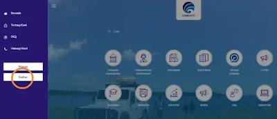 Halaman pada aplikasi pelayanan.kominfo.go.id