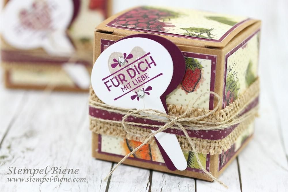 Stempel-Biene: Kleine selbstgemachte Geschenke aus der Küche