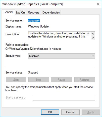 disable windows installer worker