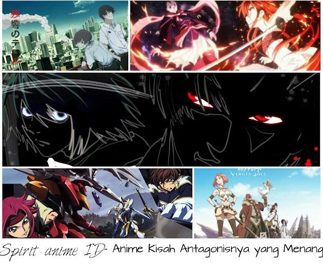 Rekomendasi Anime Dengan Kisah Antagonisnya Menang di Spirit anime ID