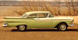 1957 Ford Fairlane 500 Dual Quad Side Right
