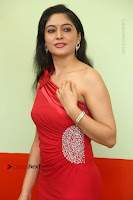 Actress Zahida Sam Latest Stills in Red Long Dress at Badragiri Movie Opening .COM 0056.JPG