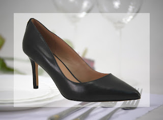 Classic Pointed Toe Black Pump