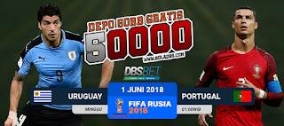 uruguay vs portugal piala dunia 1 juli 2018
