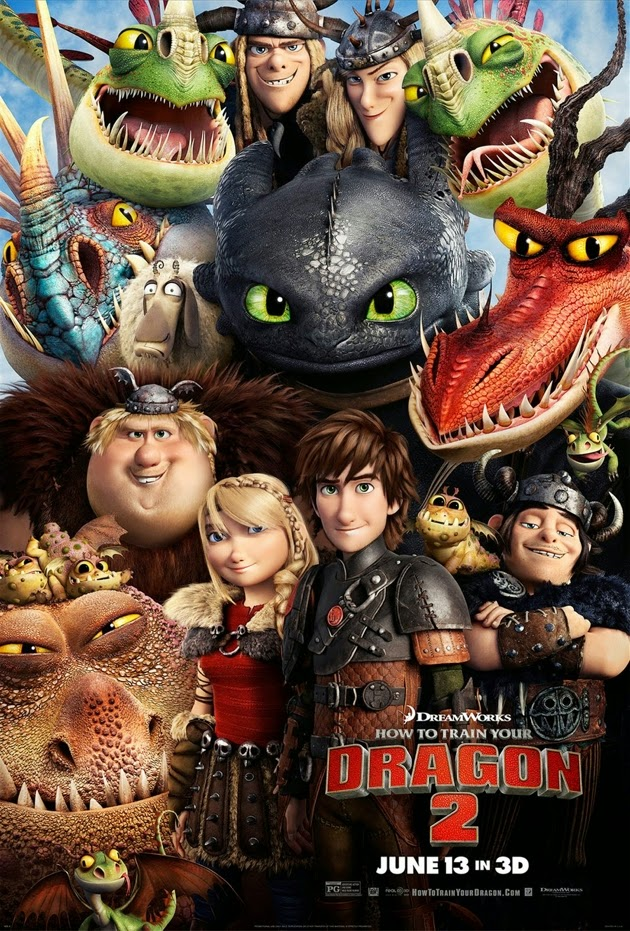 how to train your dragon 2 in 3d