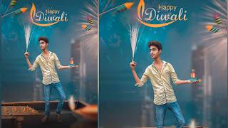 Diwali Background With Photo Manipulation Ideas