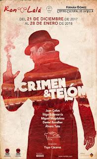 Crimen y telón [Teatro Fernán Gómez]