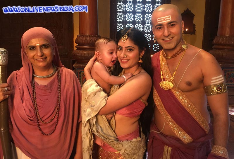 A still from show Tenali Rama