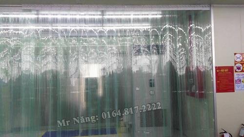 Rèm nhựa chống tĩnh điện tại Bắc Giang 01