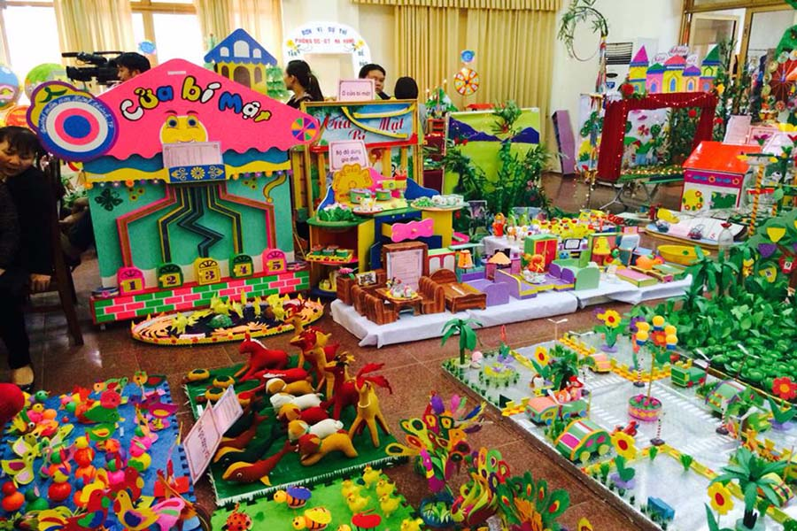 Hội thi đồ dùng đồ chơi cấp tinh năm 2015