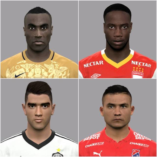Varied Facepack PES 2017