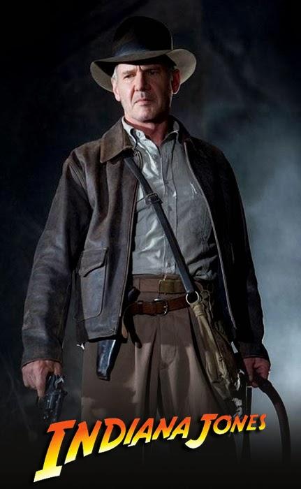 Harrison Ford în Indiana Jones And The Crystal Skull