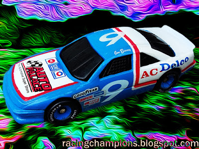 Joe Bessey #9 Auto Palace AC Delco Pontiac Oldsmobile Racing Champions 1/64 NASCAR diecast blog 1992 BGN Busch Grand National