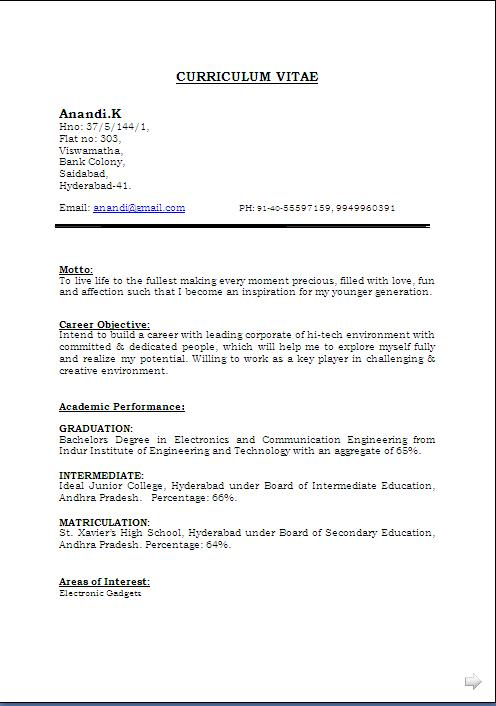 Perfect It Resume. Example Of Perfect Resumes Template. Expert