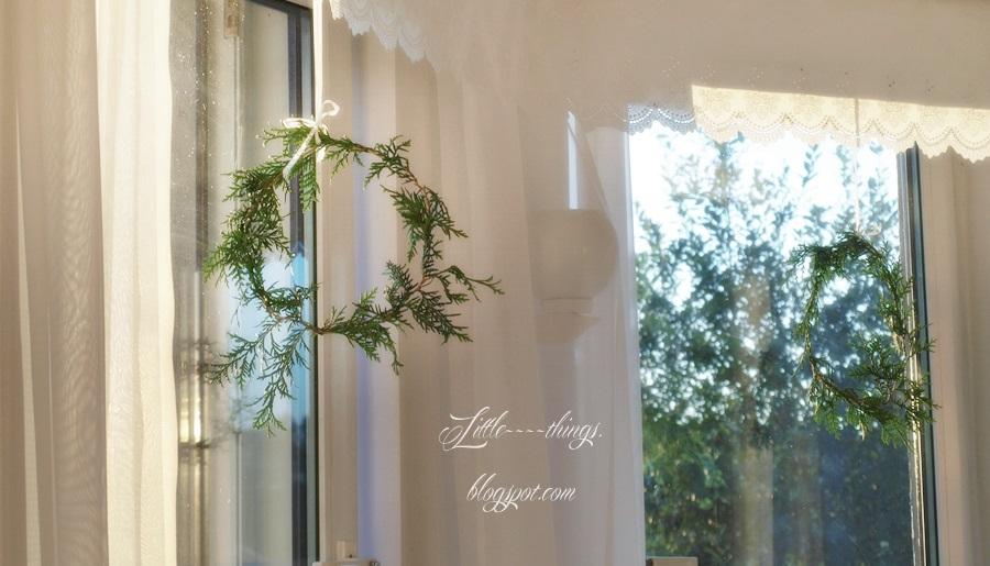 cottage style, romantyczny wystrój okien, shabby chic window,