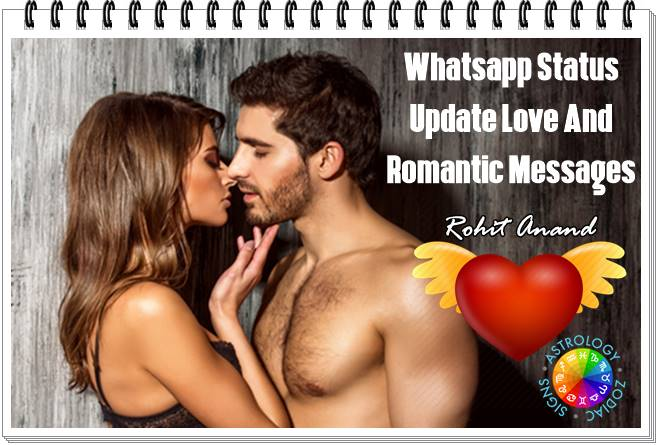 Whatsapp love messages for her, wahtsapp messages for him, whatsapp sayings & romantic messages for lover, cute and sweet love one liners