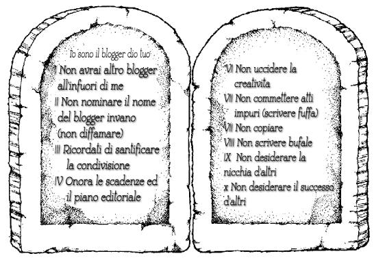 I 10 comandamenti del blogger - Tavole dei dieci comandamenti ...