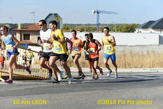 Clasificaciones y Fotos Carrera 10 km Leon