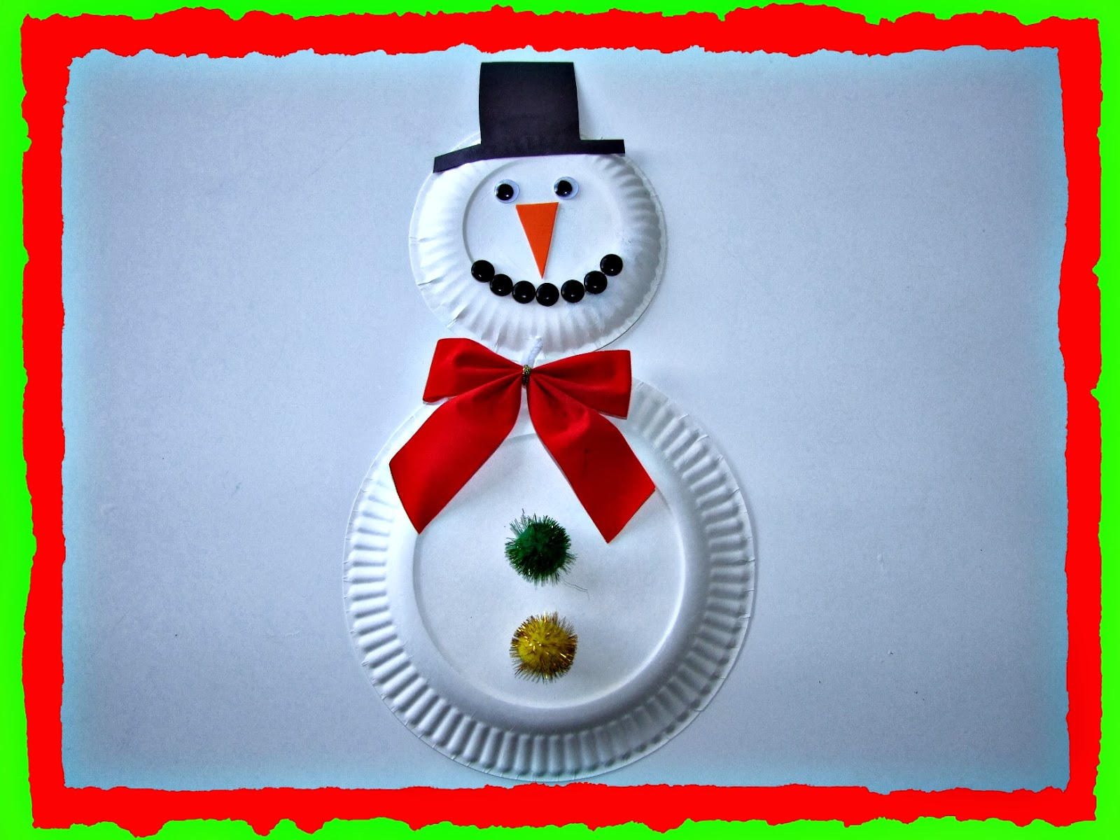 How to recycle recycled snowman christmas decor for Art and craft decoration