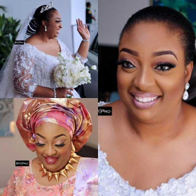 Beautiful photos of Obasanjo's new daughter in-law