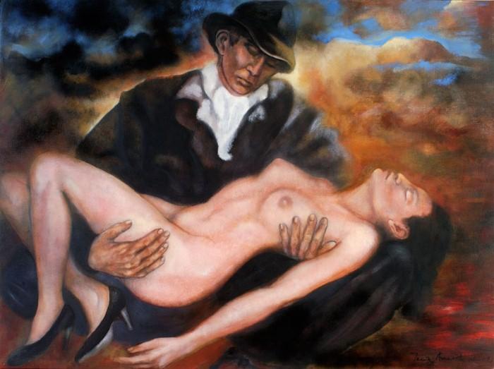 Танцы в картинах. Maria Amaral 7