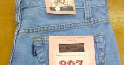 Warna Termanis Dari Celana Jeans Pria Standar Wrangler