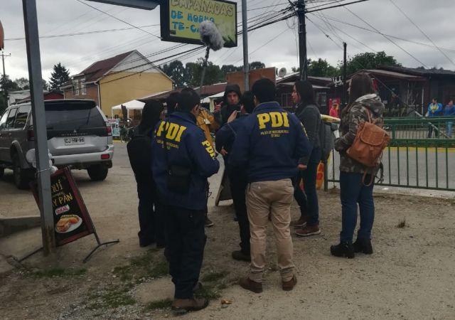 PDI realiza reconstitución de escena por investigación de Homicidio Frustrado