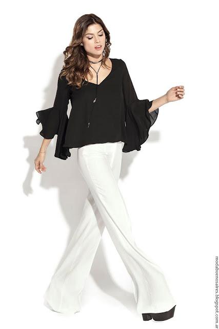 Moda 2017: Blusas, camisas, túnicas y tops primavera verano 2017 by Activity. Moda primavera verano 2017.