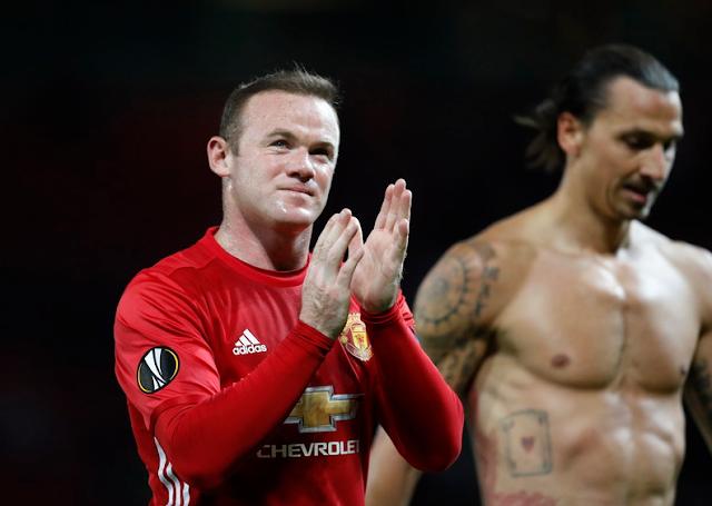 Ibrahimovic Terkesan Dengan Rekor Gol Yang Dicapai Rooney