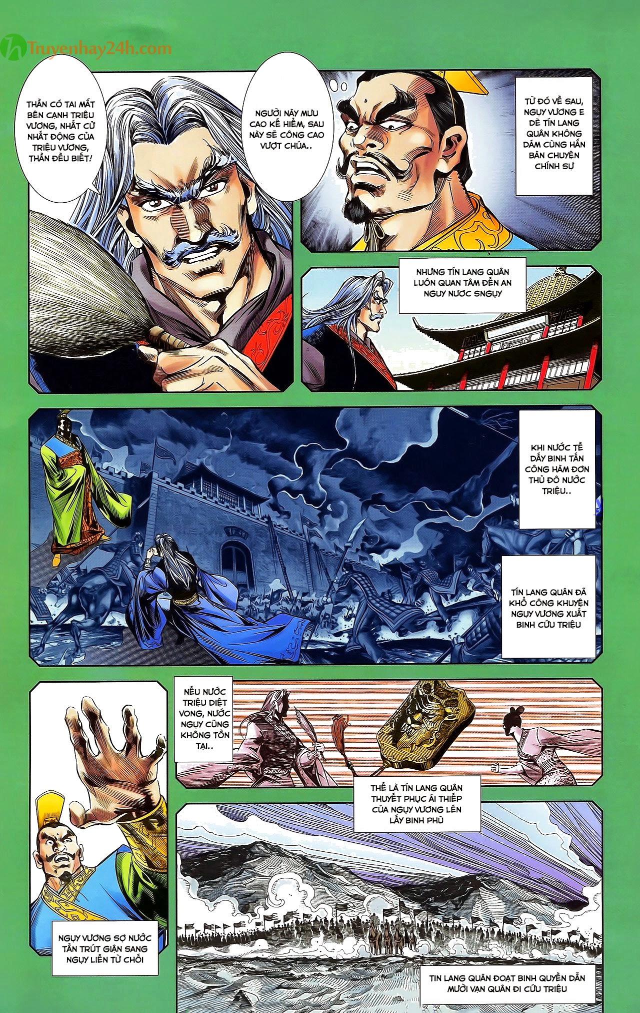 Tần Vương Doanh Chính chapter 31 trang 17
