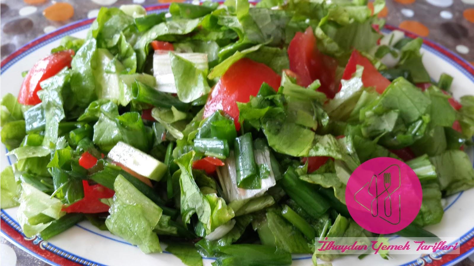 Dört Mevsim Salatası Videosu