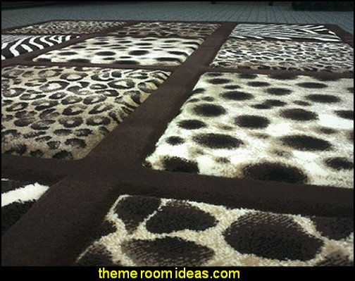 Modern Area Rug Animal Prints  wild animal print bedroom decor  - leopard print decorating ideas- giraffe print - zebra print - cheetah bedroom decor - wild animal print decorating  - leopard print decor - leopard print walls -  tiger wall decal
