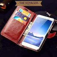 casing dompet hp kulit Leather flip case cover wallet Xiaomi Redmi Note 3 Pro