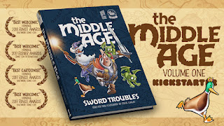 Steve Conley on his Middle Age Kickstarter campaign