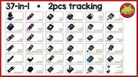 Sensori di tutti i tipi per Raspberry Pi e Arduino ⋆ 37-in-1 pack (+2)!